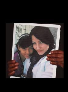 Olga Alicia y Evelyn Rosalinda Herrera